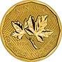 2008 1 oz Gold Coin Maple 99.999 Bullion 22078