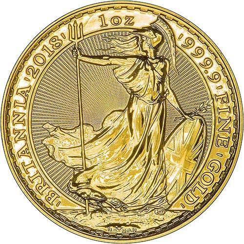 2018 1 oz Gold Coin Britannia Bullion 24901