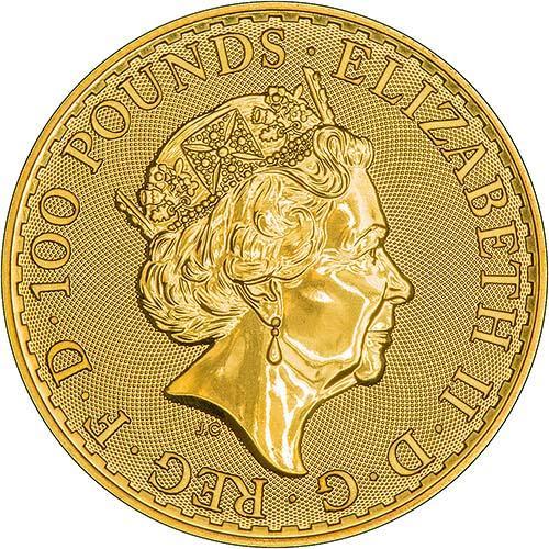 2018 1 oz Gold Coin Britannia Bullion 24902