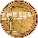 2017 UK Coin £2 Gold Proof Aviation - First World War 24245