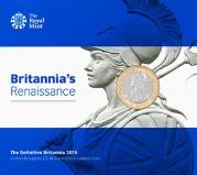2015 UK Coin £2 BU Definitive Britannia 20