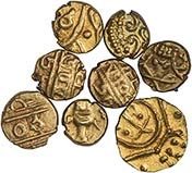 Gold India Fanam 21640