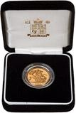 2006 Gold Full Sovereign Elizabeth II Proof Presentation Box