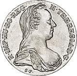 Silver Austrian Thaler UNC Maria Theresa Bullion 24333