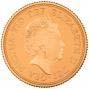 2015 Gold Full Sovereign Elizabeth II Proof Fifth Portrait 21023