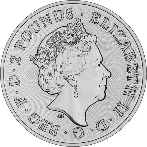 2018 1 oz Silver Coin Lunar Year of the Dog Royal Mint Bullion 24022
