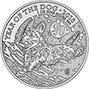 2018 1 oz Silver Coin Lunar Year of the Dog Royal Mint Bullion 24023