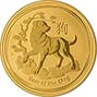 2018 0.25 oz Gold Coin Lunar Year of the Dog Perth Mint Bullion 22521