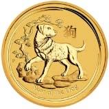 2018 1 Kg Gold Coin Lunar Year of the Dog Perth Mint Bullion 24916