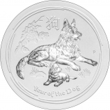 2018 10 Kg Silver Coin Lunar Year of the Dog Perth Mint Bullion 116