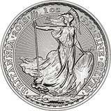 2018 1 Ounce Silver Britannia Coin Bullion 22788
