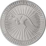 2018 1 oz Silver Coin Kangaroo Perth Mint Bullion 20778