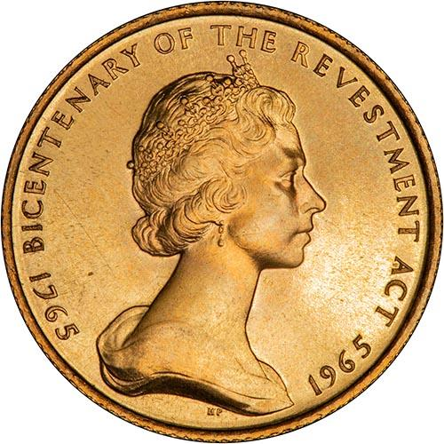 1965 Isle of Man UNC Set - Bicentenary of the Revestment Act - 3 Coins Bullion 23530