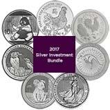 2017 Silver Coin Bundle - 7 Coins 24672