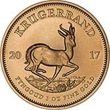 2017 1 oz Gold Coin Krugerrand Bullion 21416