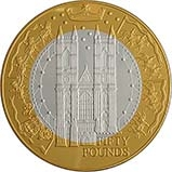 2002 Silver Alderney Fifty Pounds (£50) Proof 22642