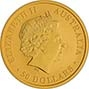 2018 0.5 oz Gold Coin Kangaroo Nugget Perth Mint Bullion 21054