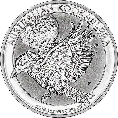 2018 1 oz Silver Coin Kookaburra Perth Mint Bullion 22563