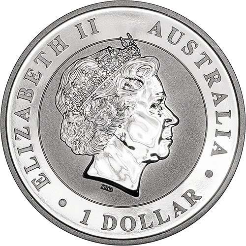 2018 1 oz Silver Coin Kookaburra Perth Mint Bullion 22564