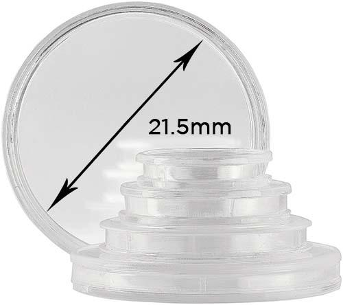 Storage & Accessories Coin Capsule 21.5mm 20635