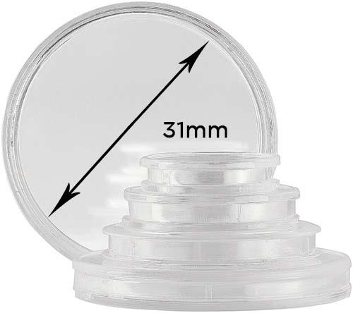 Storage & Accessories Coin Capsule 31mm 21001