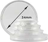 Storage & Accessories Coin Capsule 34mm 21269
