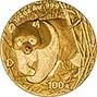 2001 0.25 oz Gold Coin Panda Bullion 20845