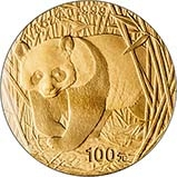 2002 0.25 oz Gold Coin Panda Bullion 22046