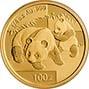 2008 0.25 oz Gold Coin Panda Bullion 21435