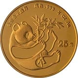 1984 0.25 oz Gold Coin Panda Bullion 24663