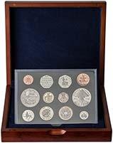 2005 Whole Coin Set UK Annual Proof - Executive 23805