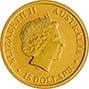 2018 0.1 oz Gold Coin Kangaroo Nugget Perth Mint Bullion 23244