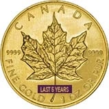1 oz Gold Coin Maple Bullion Best Value Newly Minted 22450