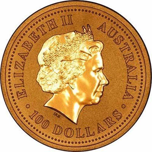 2006 1 oz Gold Coin Lunar Year of the Dog Perth Mint Bullion Coloured 24520