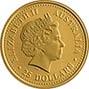 2006 0.25 oz Gold Coin Lunar Year of the Dog Perth Mint Bullion Coloured 20795