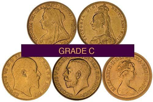 Gold Full Sovereign Grade C Secondary Market 22388