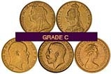 Gold Full Sovereign Grade C Secondary Market 22388