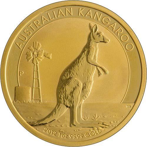 2012 KANGAROO SILVER PROOF 1oz Coin