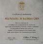 1974 Silver Panama 20 Balboas Proof 21568