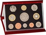 2003 Whole Coin Set UK Annual Proof - Deluxe 24394