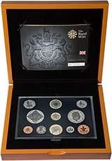 2008 Whole Coin Set UK Annual Proof - Executive 22981