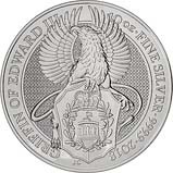 2018 10 oz Silver Coin Queen's Beasts Bullion Griffin 24978