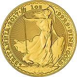 2017 1 oz Gold Coin Britannia Bullion 30th Anniversary 23722