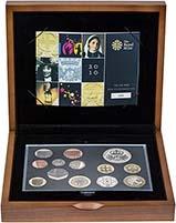 2010 Whole Coin Set UK Annual Proof - Executive 21138