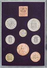 1970 Whole Coin Set UK Annual Proof - Standard 20483