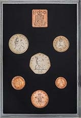 1971 Whole Coin Set UK Annual Proof - Standard 25168