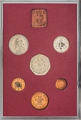 1973 Whole Coin Set UK Annual Proof - Standard 22553