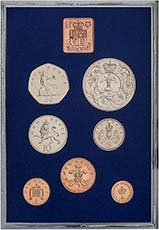 1977 Whole Coin Set UK Annual Proof - Standard 21866