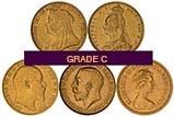 Gold Half Sovereign Grade C Secondary Market 24635