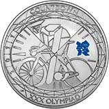 2011 UK Coin £5 / Crown Silver Proof Countdown to the Olympics 21999
